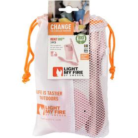 Light My Fire ReKit BIO Kit Snack & Boisson, dustypink